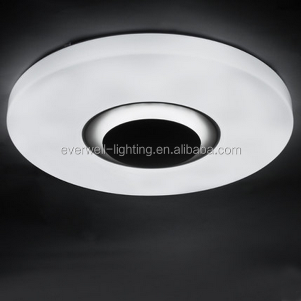luxury acrylic round ceiling lamp for hotel
