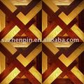 Merbau and Oak Wood Mosaic Parquet art parquet flooring