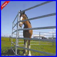 used corral panel, used horse fence panel, galvanized livestock metal fence panels