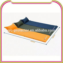 wholesale outdoor folding inflatable air bed camping mat with pillow ,H0T172 air mattress for camping