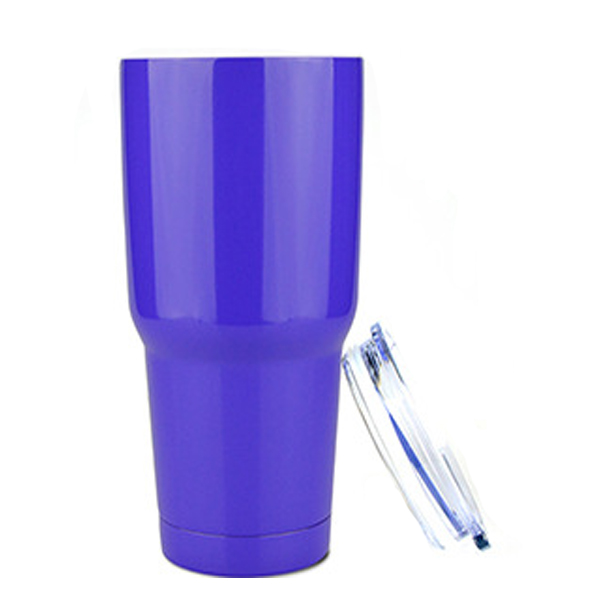 Hot Selling Double Wall Stainless Steel Vacuum Insulated Tumbler With PP Lid