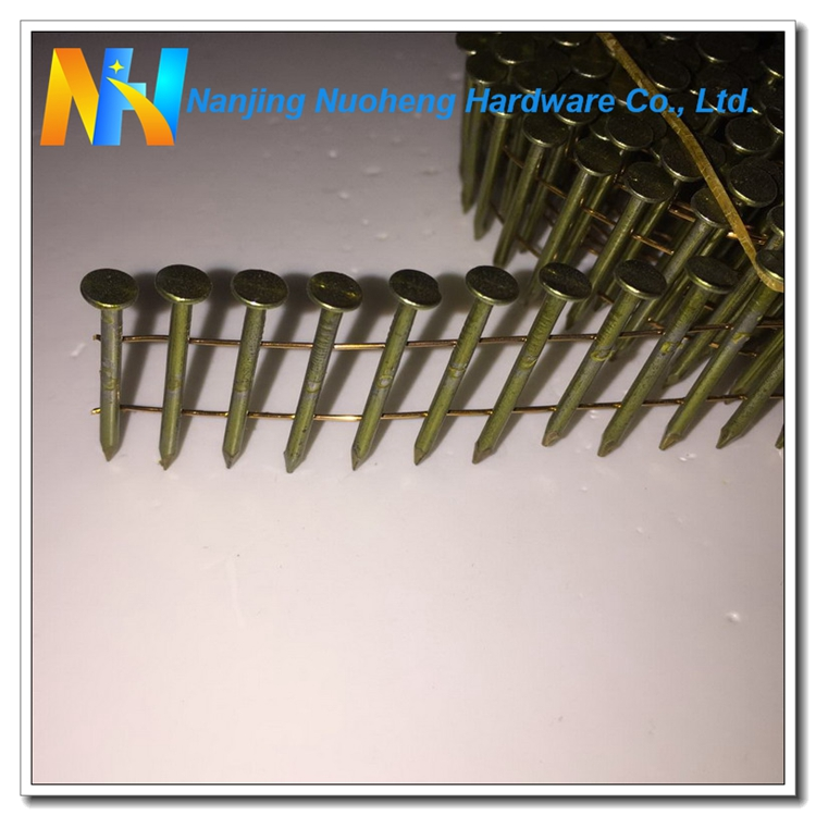 15 Degree Smooth Shank Bright Common Wire Nail 2.0x27mm