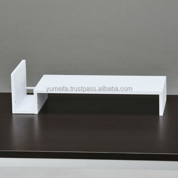Japanese High Quality Office Table Accessories Desktop Organizer Desktop Computer Shelf