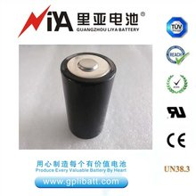 High capacity lithium thionyl chloride battery ER34615 3.6V D size 19000mAh lithium battery