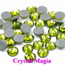 14 faceted Machine cut olivia flat stones for crafts SS10 hotfix rhinestone