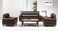 classic design wood sofa furniture pictures for business reception FOH-6629