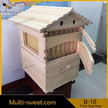 Flowing bee hive/honey flow super box/honey flow frames