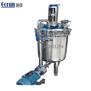 Factory Direct Sale Stainless Steel Vertical Electric Heating Sugar Syrup Mixing Tank