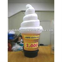 customized ice cream inflatable