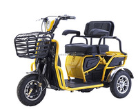 48 voltage and elder use battery operated electric rickshaw