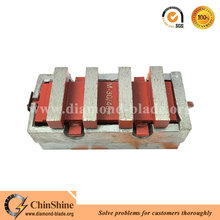 Professional concrete grinding diamonds abrasive grinding block for Edco floor grinder