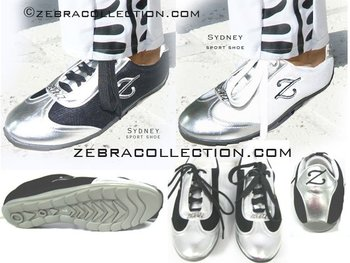 Zebra fashion sport shoes