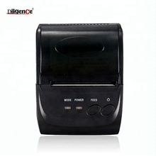 58MM Outdoor Portable 2 inch mini rs232 thermal receipt printer with Rechargeable Battery