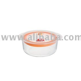 Food storage glass container 450ml