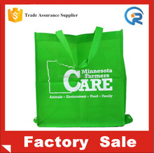 Promotional reusable folding shopping bag non woven china supplier / tote bag custom