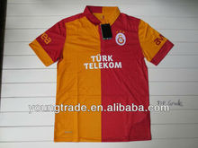 Top Grade thailand quality Galatasaray home 2012 2013 Player version soccer jersey