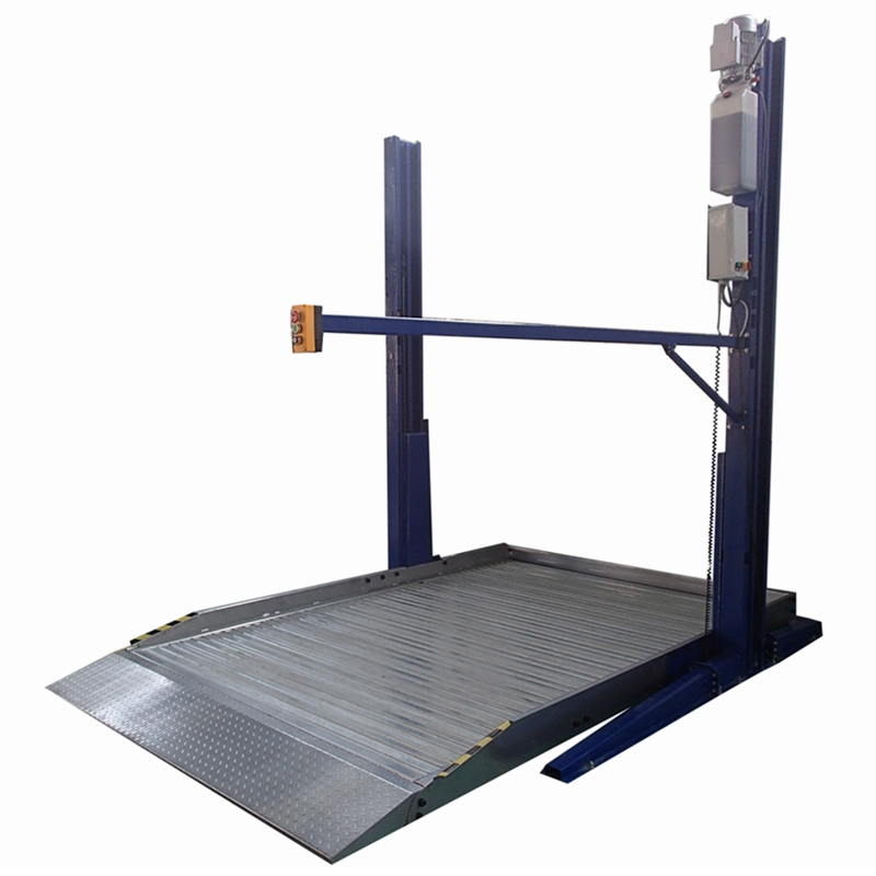Home Parking Lift Two Post Two Level Car Parking Lift <strong>System</strong> 2700KG