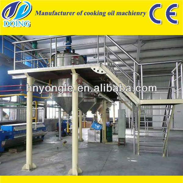China leading palm oil refining machine production companies with ISO&CE