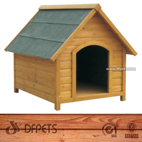 Wood Cat House Dog Kennel Hutch Cages DFD009