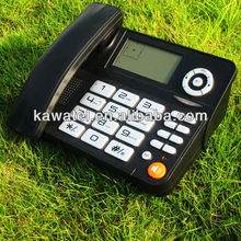 Popular pretty call ID phone,big LCD display,phone book