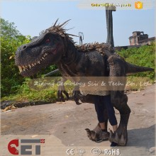 CET-H299 High Emulation life size costume dinosaur robots for adults