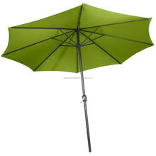 Patio Outdoor Table Umbrella with Activity Aluminum Tilt