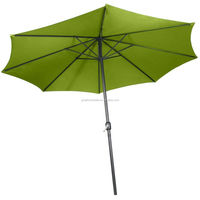 Patio Table Aluminum Umbrella with Outdoor Activity Tilt Umbrellas