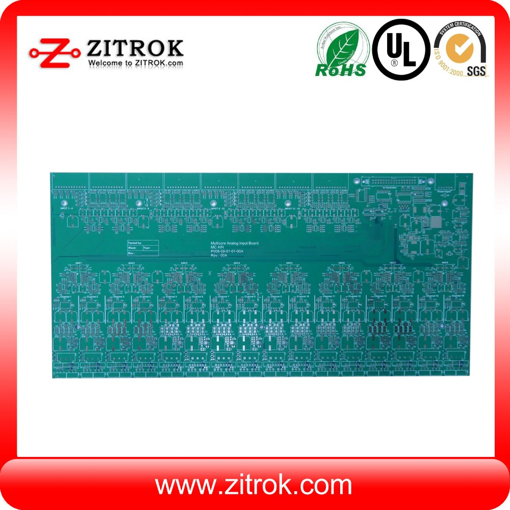 High quality rf module Computer Monitor main board 6 layer pcb manufacture