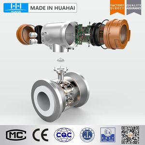Intelligent Electromagnetic Flow Meter for Sewage or Dirty Water/Sea Water