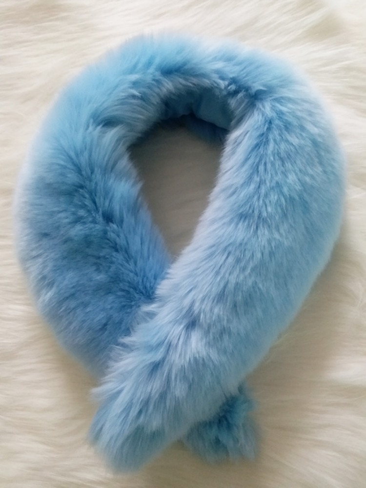 High Quality Stabile Soft Tasteful Faux Fur Collar For Coat
