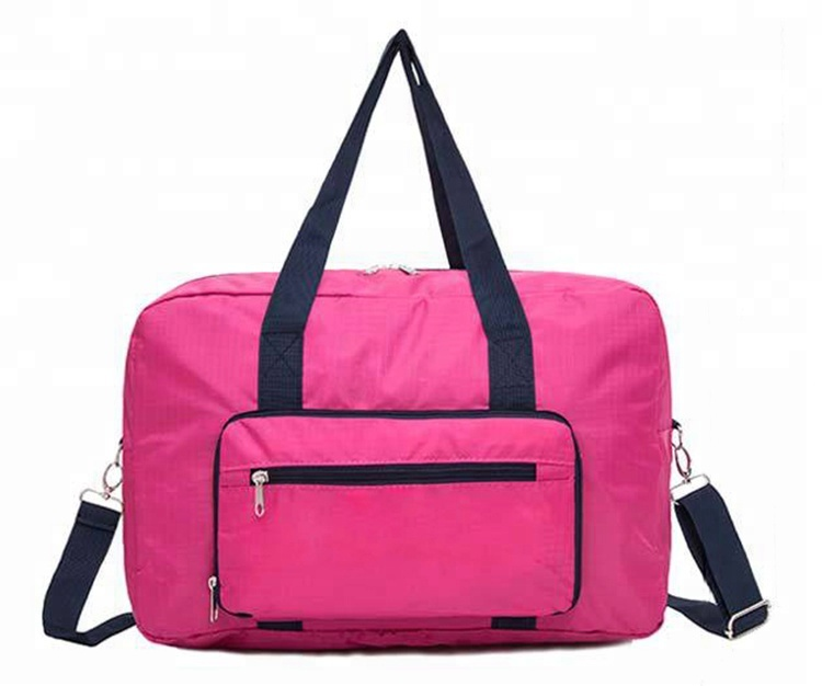 Custom LOGO Foldable Luggage Duffle Bags with Large Capacity Short-distance <strong>Travel</strong> Women's Manufacturers