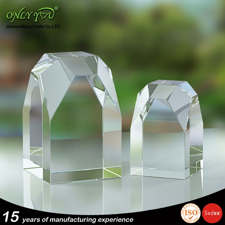High Quality Free Customized Design Logos crystal glass award plaque made in China supplier