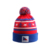 Sale Well High Quality Mask Multi-color Europe Printed Blank Knitted Baby Woolen Beanies Cotton Hats