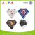 Hot Sale Popular Stylish 100% Cotton Alva Waterproof Baby Bandana Bibs Triangle