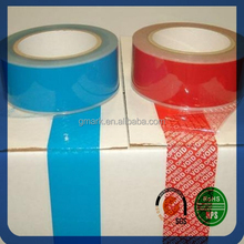 tamper evident security tape packaging