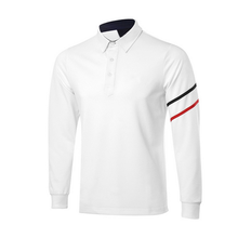 Double Stripes Mens Dri Fit Polo Golf Shirts
