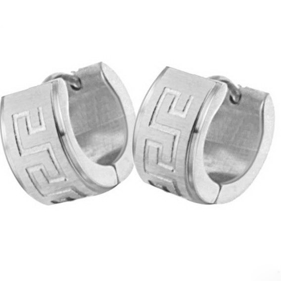 fashion stainless steel earring never fade anti allergy