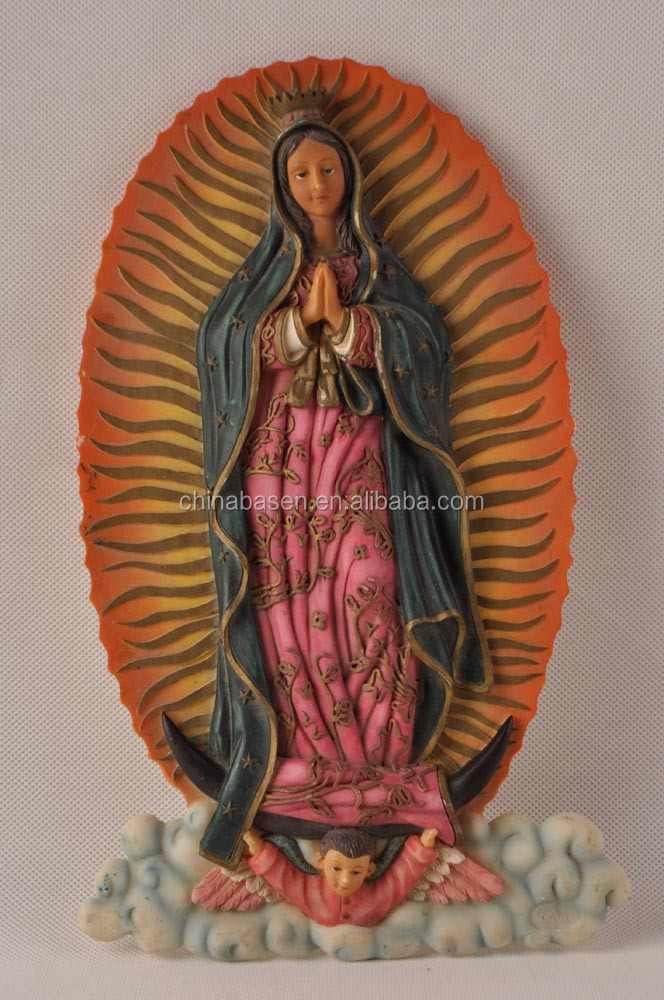 custom catholic virgin resin statue gift