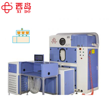 2017 China Automatic Feather Filling Machine for grid jackets and pillow