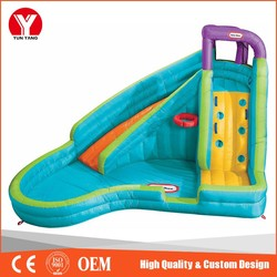 Inflatable water slide, giant inflatable water slide for sale