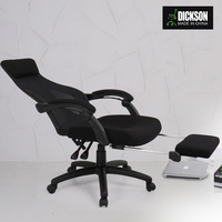 Dickson black mesh fabric executive office chair for fat people
