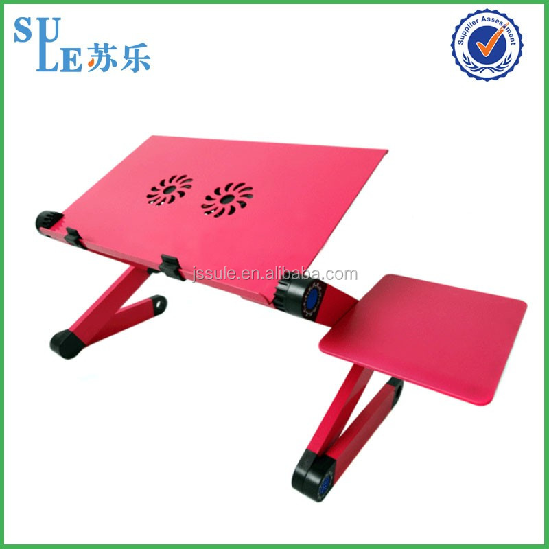 Manufacturer angle adjustable laptop stand aluminum used computer desk folding laptop table for home