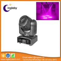 wholesale dmx control moving head light dj disco light led gobos projector spot lights