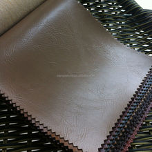 New arrival light brown PVC synthetic leather for sofa upholstery