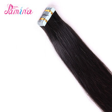 Real Human cuticle remy hair extension human hair tape ins for beautiful ladies 100% extension adhesive tape extensions