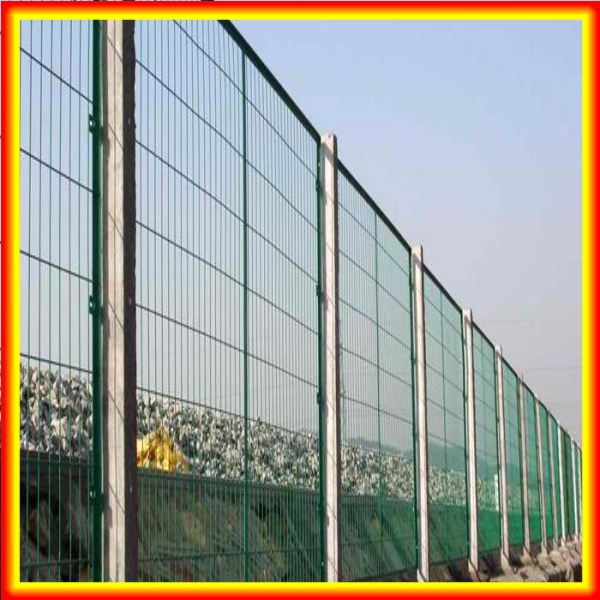 PVC fence post/Square galvanized fence posts/8ft fence panels