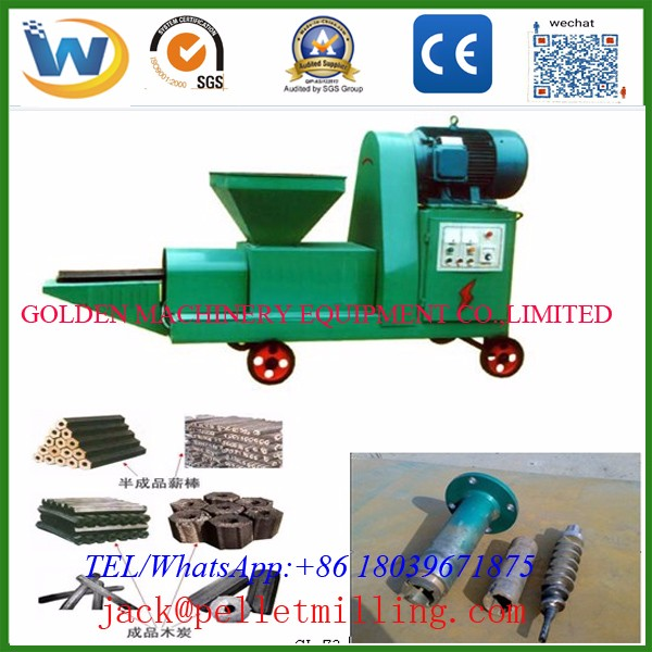 Best sale factory price Runxiang jute sticks charcoal making machine WSMB140