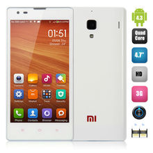 Xiaomi Redmi 1S Hongmi 1S WCDMA 4.7inch Android 4.3 Qualcomm 8228 Snapdragon 400 Quad Core 1G 8G 1.6+8.0MP Dual Camera Phone