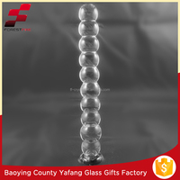 Clear Large Pyrex Glass Dildos for Women Masturbation FF-G9076