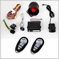 Lixing OEM car alarm vehicle security system